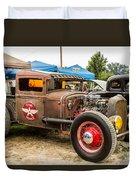 Custom Truck Duvet Cover