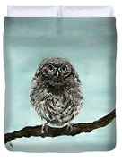 Cute Baby Owl Duvet Cover