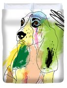Cute Dog 2 Duvet Cover