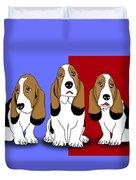Cute Dogs 2 Duvet Cover