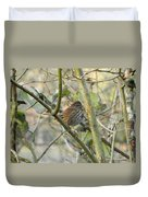 Cute Little Thrush Duvet Cover