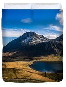 Cwym-idwal And Tryfan Duvet Cover
