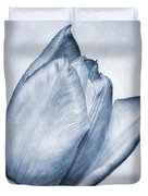 Cyanotype Tulip Duvet Cover