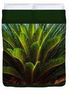 Cycad Sago Palm Duvet Cover