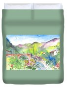 Cycling In Italy 05 Duvet Cover