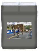 Cycling Stage Win Duvet Cover