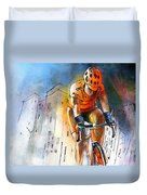 Cycloscape 01 Duvet Cover