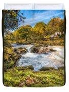 Cyfyng Falls Duvet Cover