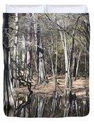 Cypress Bog Duvet Cover
