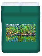 Cypress Coast Duvet Cover
