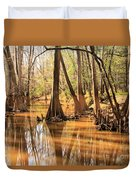 Cypress In The Swamp Duvet Cover