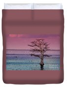 Cypress Purple Sky Duvet Cover