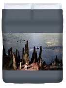 Cypress Roots Duvet Cover