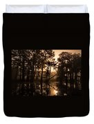 Cypress Sunrise Duvet Cover