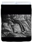 Cypress Tree Abstract Duvet Cover