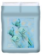 Cyprus Gods Of Trade. Duvet Cover by Augusta Stylianou