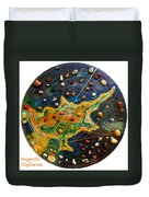 Cyprus Planets Duvet Cover