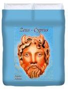 Cyprus - Zeus Duvet Cover