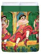 Czardas Dancers, 1908-20 Duvet Cover