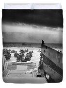 D-day Landing Duvet Cover
