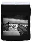 D-day Landing Duvet Cover