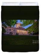 D13l94 Ohio Statehouse Photo Duvet Cover