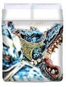 Da Dragon Comic IIacd Duvet Cover