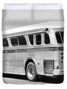 Dachshound Charter Bus Line Duvet Cover