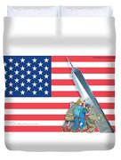 Daddys Home 9/11 Tribute Duvet Cover