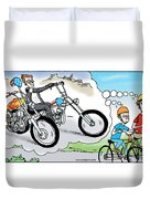 Daddy's Home Father And Son Dream Duvet Cover