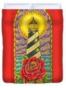 Dad's Lighthouse Duvet Cover