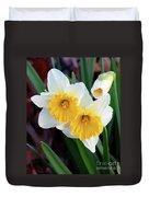 Daffodil Art  Duvet Cover
