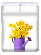 Daffodil Display Duvet Cover by Amanda Elwell