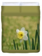 Daffodil Flower Duvet Cover