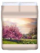 Daffodil Hill Duvet Cover