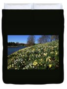 Daffodil Hill Duvet Cover