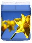 Daffodil Line Duvet Cover