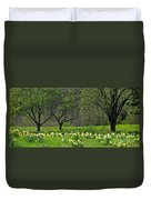 Daffodil Meadow Duvet Cover