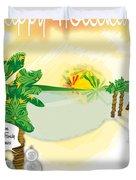 dafoi xMas Card_005 Duvet Cover