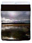 Dahler Lake In Emily Minnesota Duvet Cover
