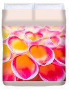 Dahlia Abstract Duvet Cover
