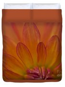 Dahlia Closeup Duvet Cover