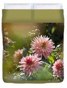 Dahlia Garden Duvet Cover