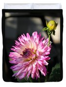 Dahlia Generations Duvet Cover