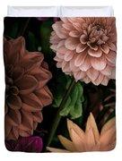 Dahlia Heaven Duvet Cover