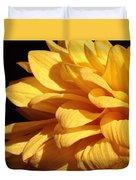 Dahlia's Light Side Duvet Cover