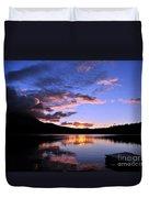 Daicey Pond Sunrise II Duvet Cover