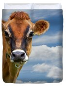Dairy Cow  Bessy Duvet Cover