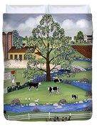 Dairy Farm Duvet Cover