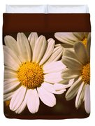 Daisies Duvet Cover by Chevy Fleet